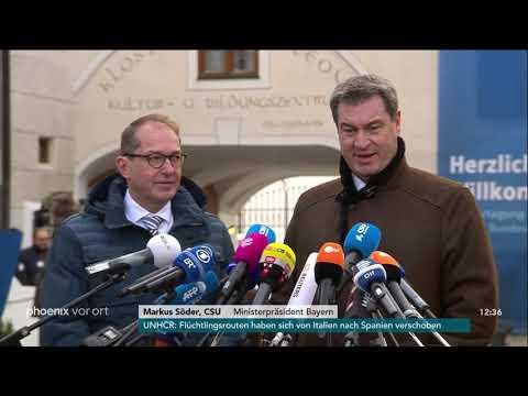 Statements von Alexander Dobrindt und Markus Söder zu ...