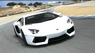 2012 Lamborghini Aventador Hot Lap! - 2012 Best Driver's Car Contender