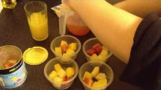 3 Pro-points Dessert Recipe - Jelly, Fruit And Cream