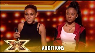 Video Simon PAIRS UP Two Girls To Make New Duo... Watch What Happens! | The X Factor UK 2018 MP3, 3GP, MP4, WEBM, AVI, FLV Januari 2019