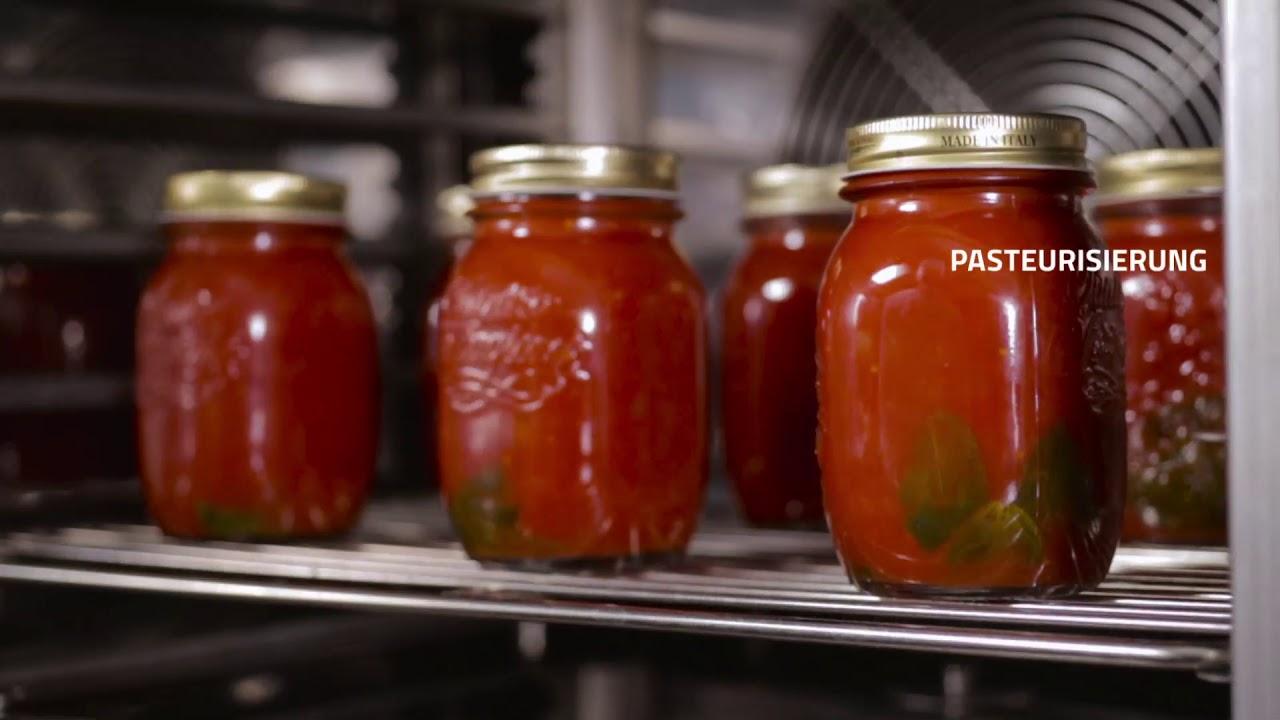 Was wird heute mit Multifresh zubereitet? Tomatensosse