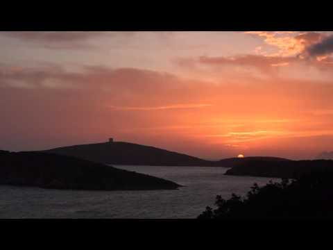 Sardegna - Tramonto a Capo Malfatano - Teulada