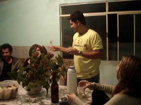 Equipe de Viçosa em Sericita-MG