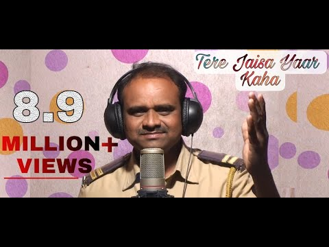 Video TERE JAISA YAAR KAHA KARAOKE SONG SING BY RAJESH RAJGURE download in MP3, 3GP, MP4, WEBM, AVI, FLV January 2017