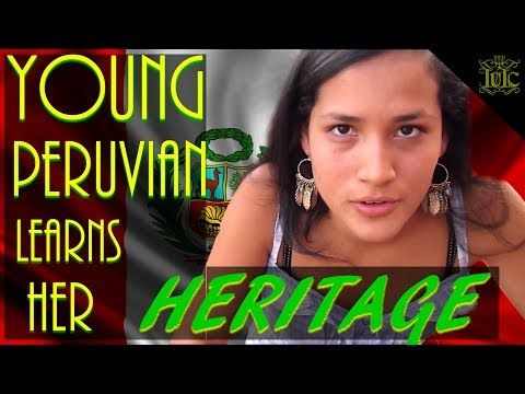 The Israelites: Young Peruvian learns her heritage