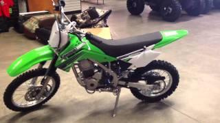 7. 2012 Kawasaki KLX 140L Lime Green