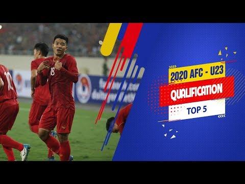 Top 5 bàn thắng đẹp của U23 Việt Nam tại vòng loại U23 châu Á 2020 - gọi tên Đức Chinh | VFF Channel - Thời lượng: 4 phút, 34 giây.