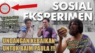 Video VIRALKAN !! Undangan Kebaikan Untuk Baim Paula Di Jogjakarta  - Social Experiment Indonesia MP3, 3GP, MP4, WEBM, AVI, FLV April 2019