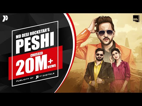 Peshi - MD Desi Rockstar | Vicky Kajla | Ayub Khan | KP Music | Veen Ranjha | New Song 2020