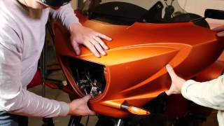 7. Remove Victory Cross Country Touring Front Fairing | Biker Motorcycle Podcast
