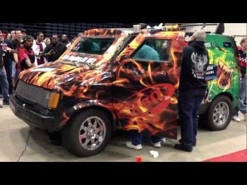 loudest - Craig Butler breaking the world record for loudest car stereo in the world. DB Drag Racing Spring Break Nationals 2013. Final Score 181.1 decibels Loudest ve...
