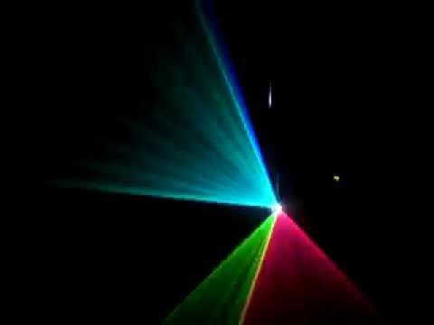Đèn laser 7 màu 500mw giá rẻ cho sân khấu nhỏ