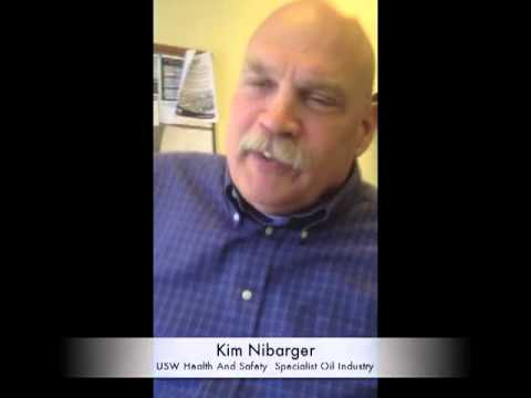United Steelworkers - Kim Nibarger, a United Steel Workers union health and safety specialist discusses the issues facing US oil refinery workers union and non-union and the dange...
