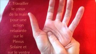Auto-massage des mains...