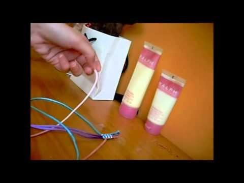 ... de colores bracelet kumihimo square pulsera nudos planos de 3 colores