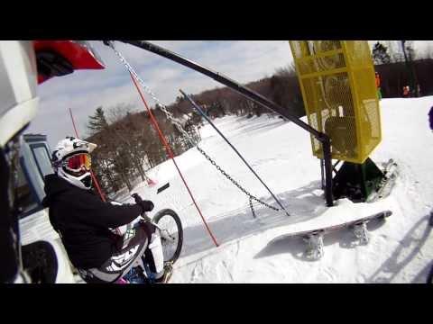 Mt Holiday Downhill Dash MTB Race 2014 Traverse City Michigan
