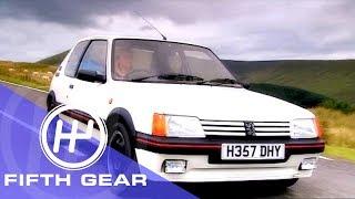 Fifth Gear: Peugeot 205 GTi Vs 207 GTi THP175 by Fifth Gear