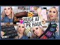 PR UNBOXING HAUL!  💕🎁 Loads of FREE Makeup n GIVEAWAY! 🤯
