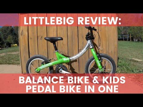 LittleBig Review: Balance Bike & Kids Pedal Bike in One