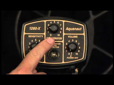 Fisher 1280-X Aquanaut Underwater Metal Detector