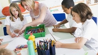 http://www.waysandhow.com/how-to-videos Tips on how to teach art to children. It's always fun to do stuff with kids because they're uninhibited, experimental...