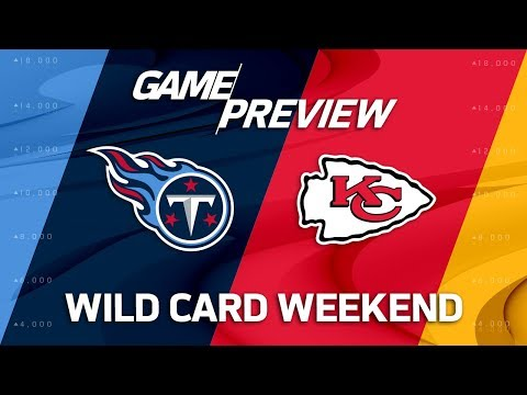 Video: Tennessee Titans vs. Kansas City Chiefs | NFL Wild Card Weekend Game Preview | Move the Sticks