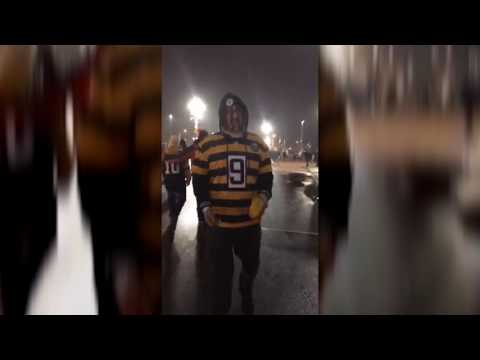Steelers fans on why they lost to the Patriots (видео)