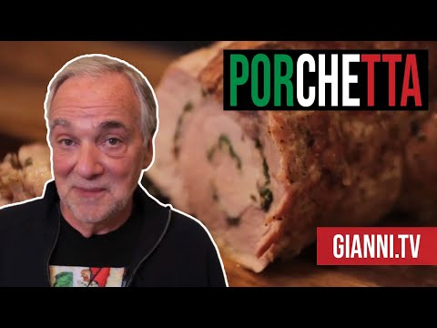 Great Italian Food Recipe: How to Make Porchetta