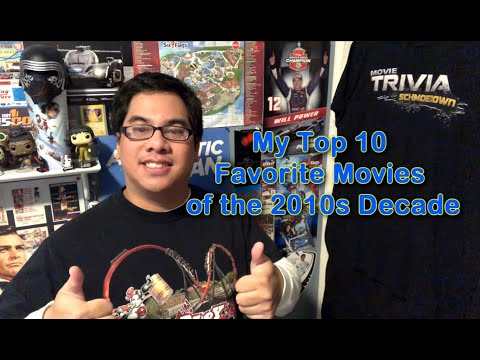 My Top 10 Favorite Movies of the 2010s Decade