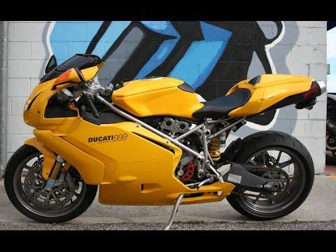 2004 Ducati 999... Rare Yellow Italian Beauty!