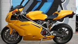 4. 2004 Ducati 999... Rare Yellow Italian Beauty!