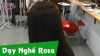 Nhuộm tóc màu nâu sáng