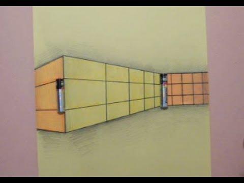 خداع بصري : الحائط والبطاريات