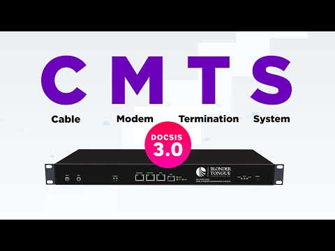 Blonder Tongue's CMTS (Cable Modem Termination System)