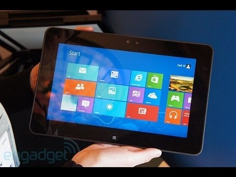 New Dell Tablet: Latitude 10 Hands On Review | Engadget At CES 2013