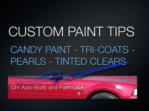 0 What Is A Tri Coat and What Is The Difference Between Candy Paint and Tinted Clear