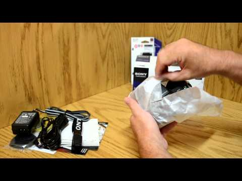 Sony DSC HX100V Cyber Shot Unboxing American Version