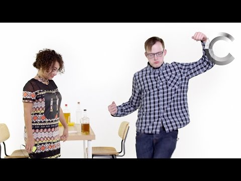 Truth or Drink - Blind Dates (Aaron & Asia)