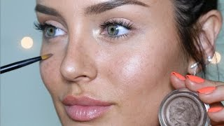 Natural Beauty Makeup Look: the illusion of NO foundation! Incl. Freckles! by Chloe Morello