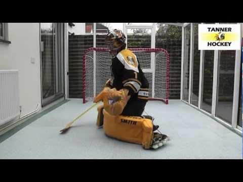Save Mechanics #9: Inline Hockey Goalie Training – Nabokov Knee Shuffles