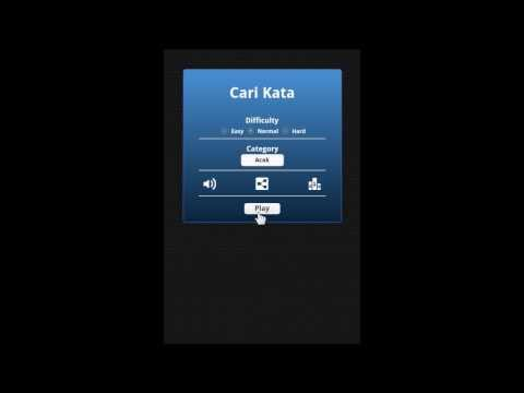 Video of Cari Kata