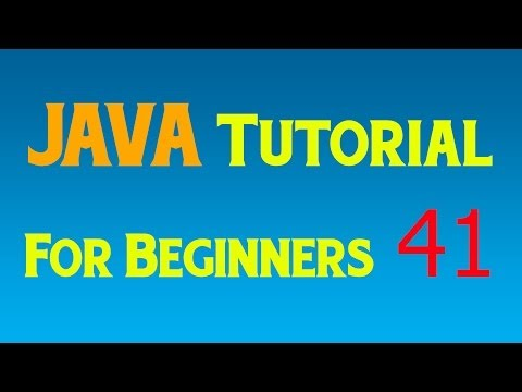 Java Tutorial for Beginners – 41 – Setting up the GUI and the JFrame and JButton