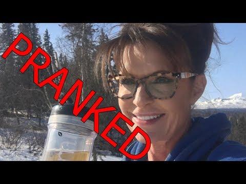 Sarah Palin Pranked by Sacha Baron Cohen