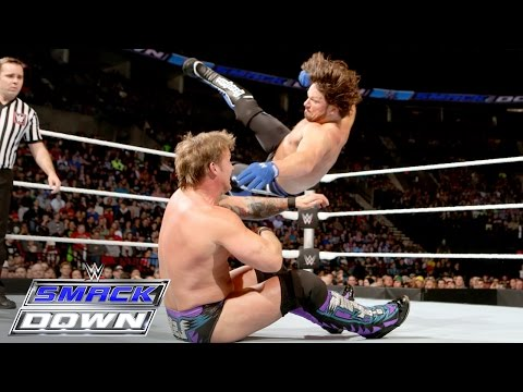AJ Styles Vs. Chris Jericho: SmackDown, February 11, 2016