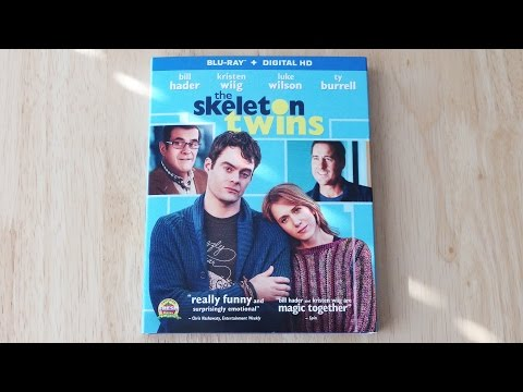 The Skeleton Twins Blu-ray | Digital Copy Unboxing & Review