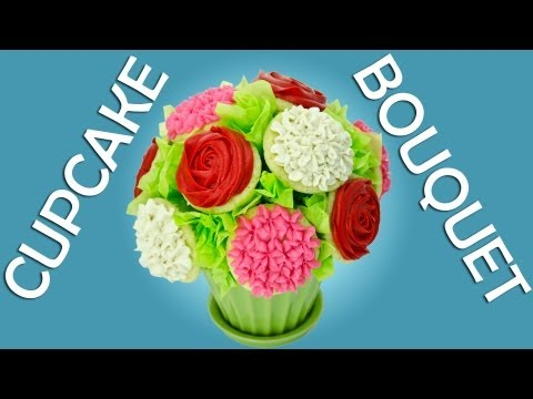 How to Make a Cupcake Bouquet by Cookies Cupcakes and Cardio