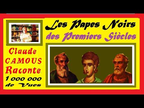 Les Papes Noirs des Premiers Siècles « Claude Camous Raconte »  Victor 1° (189 – 199), Miltiade (311 – 314), Gélase 1° (492 – 496).