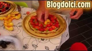 Crostata Di Frutta Con Crema Pasticcera - Video Ricetta HD