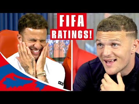 """Download Walker & Trippier Guess their FIFA 19 Stats!   """"Are you having a laugh?!""""   England"""