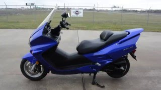 7. For Sale $2,699:  Pre Owned 2006 Honda Reflex 250 ABS Candy Blue